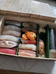 Sushi Bento in Toronto, Canada