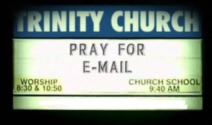 pray for e-mail